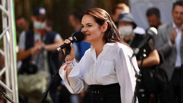 Тихановская подмочила свою репутацию встречей с участником «одесской Хатыни»