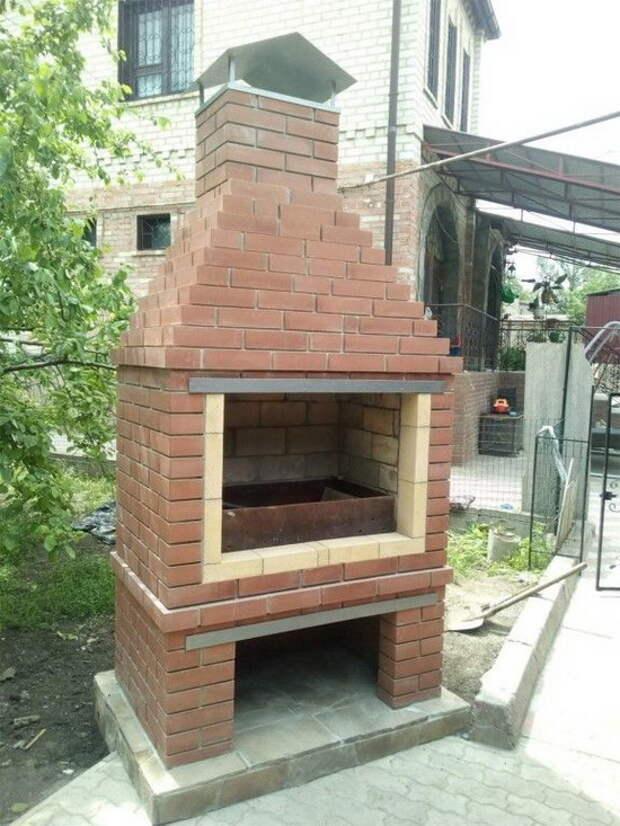 Делаем простую уличную печь для барбекю