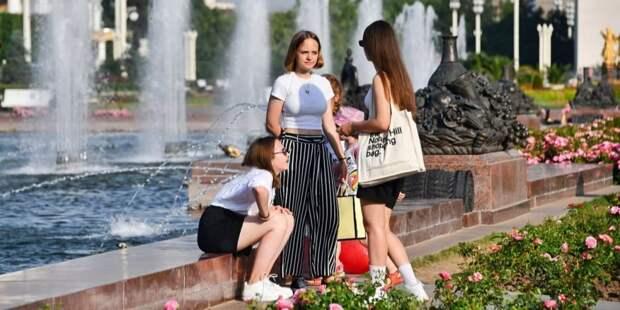 Более 20% москвичей получали тепловые удары во время аномальной жары
