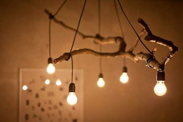 Ветки - светильники