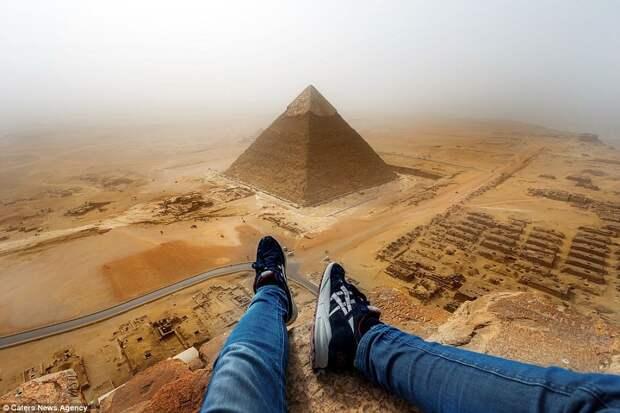 Андрей Чисельский покоряет пирамиды