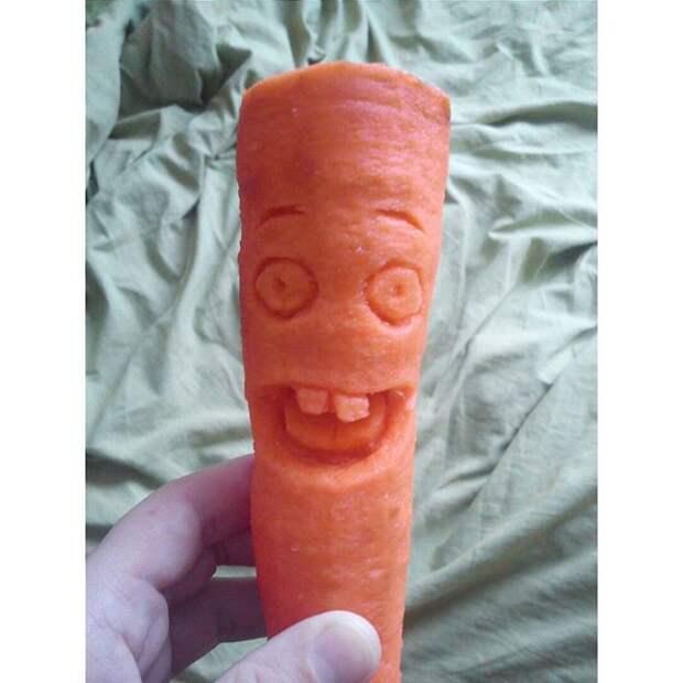 """Когда мама попросила """"заняться морковкой"""" ))) отец психанул, папа жжёт, папы"""