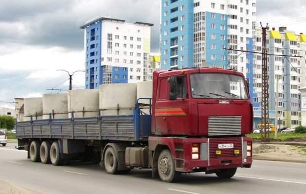 МАЗ 5445 на дорогах страны.