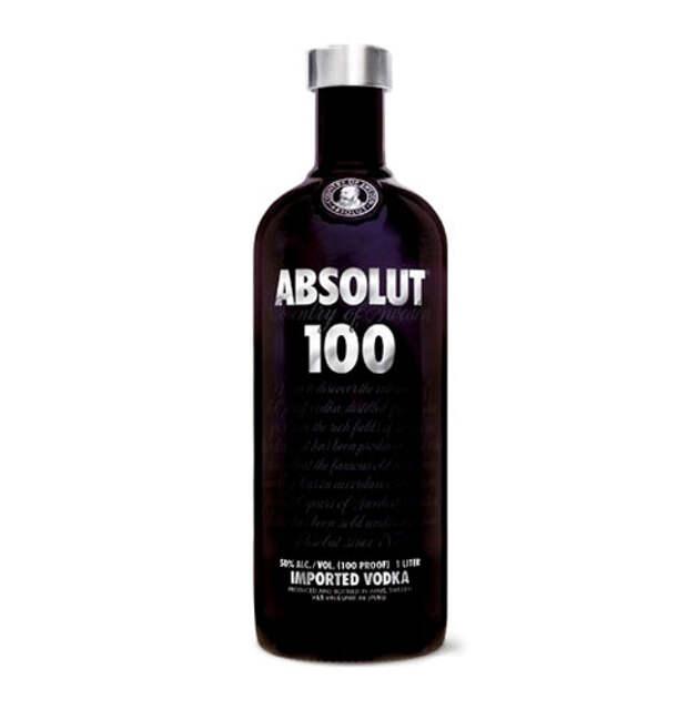 Absolut создал черную водку
