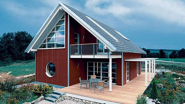 Современное решение для традиционного деревянного дома.