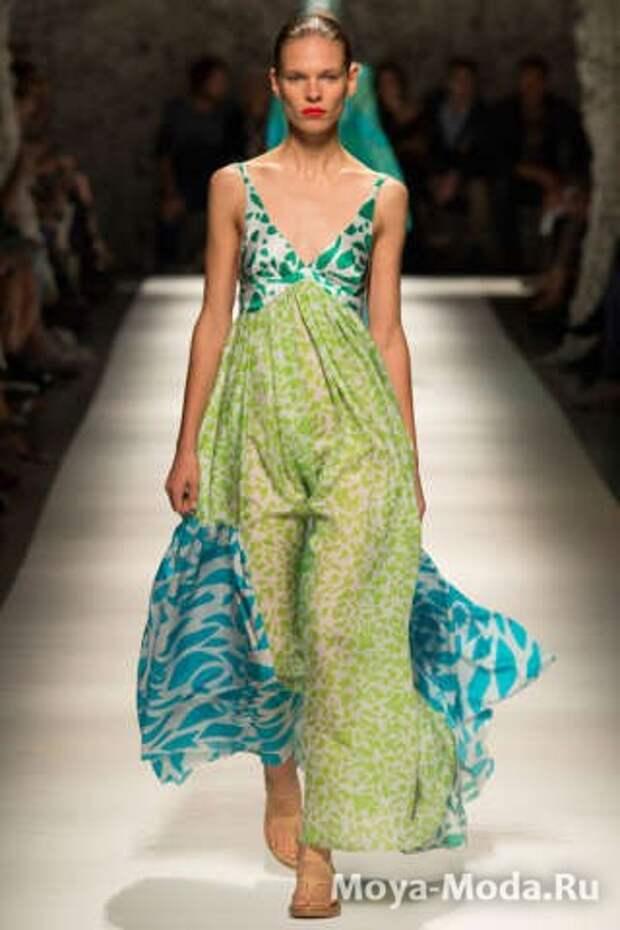 Модные сарафаны весна-лето 2015 Missoni