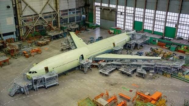 В России создают самолёт «Судного дня» на базе широкофюзеляжного Ил-96-400М