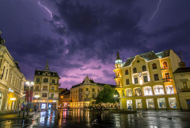Грозы в Румынии от Адама Фройндлиха