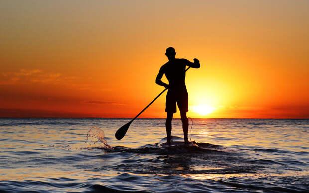 Сёрфинг с веслом
