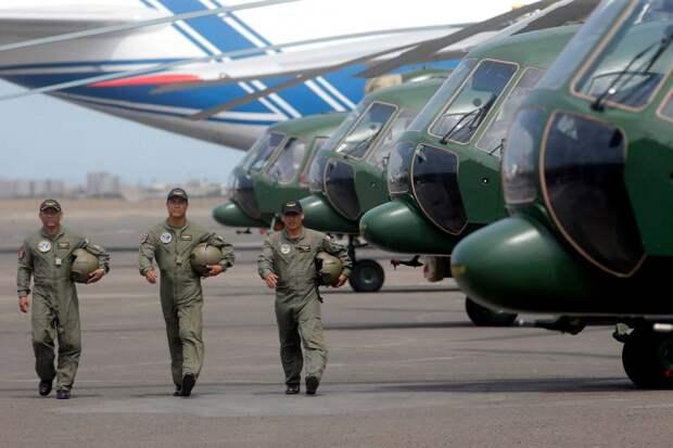 Минобороны Перу: центр ремонта вертолетов из РФ стимулирует развитие местной индустрии