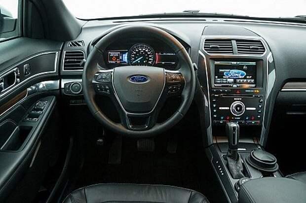 Первый тест-драйв обновленного Ford Explorer