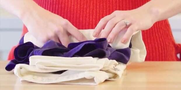 Как без утюга разгладить мятую одежду