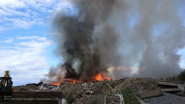 МЧС удалось локализовать пожар на полигоне в Норильске
