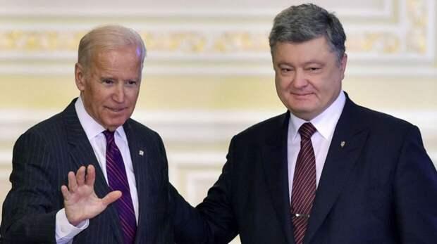 Новые разоблачения доказывают, что Порошенко и Байден разворовывали Украину