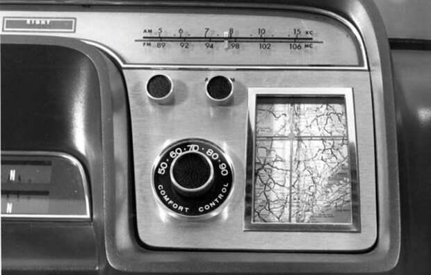 Автомобильные опции в прошлом