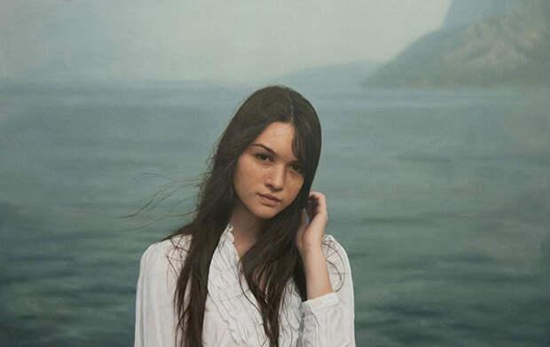 Гиперреалистичные женские портреты, написанные маслом