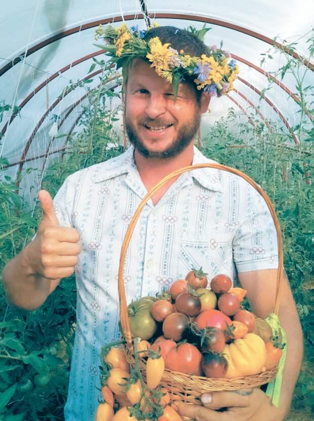 Лучшая коллекция экзотических помидоров – у простого деревенского парня Дениса!