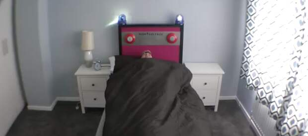Подняться с кровати поможет кровать