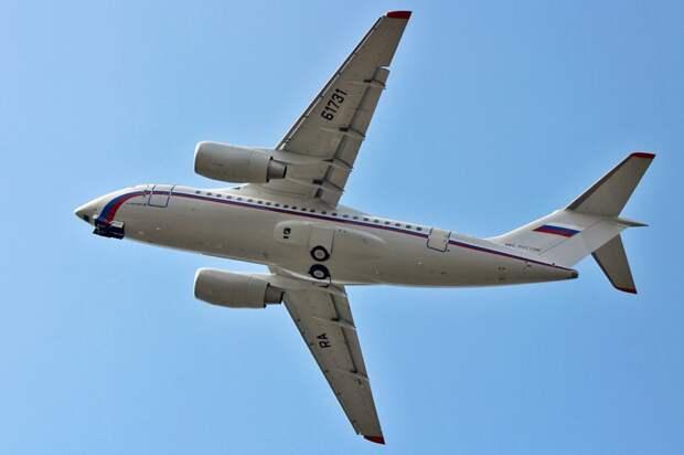 В воздух поднялся 11-й Ан-148 для Минобороны РФ