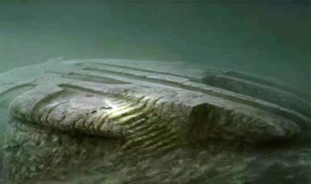 Загадочный объект на дне Балтийского моря