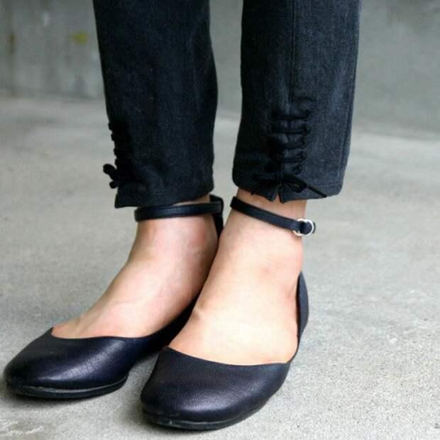 Штанишки на шнуровке