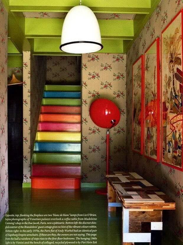 Подборка креативных лестниц