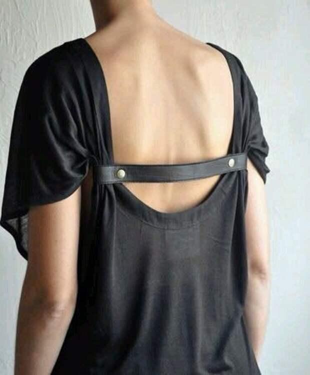 Симпатичные съемные кожаные детали для платьев.