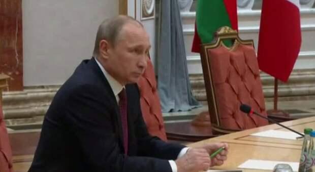 Украинские СМИ придумали «новость» о сломанном Путиным карандаше