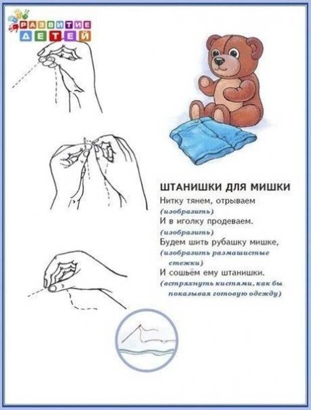 Пальчиковая гимнастика и её влияние на умственное развитие ребёнка