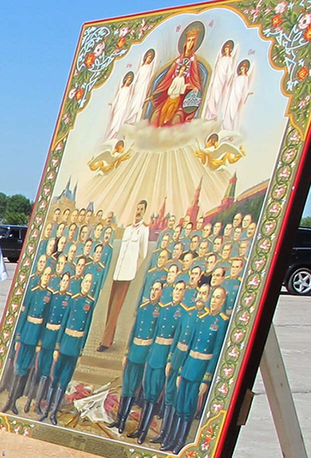 Проханов хочет причислить Сталина к лику святых
