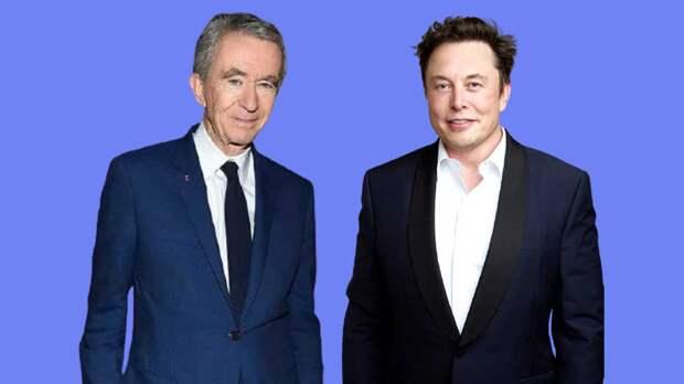 Состояние Маска и владельца Louis Vuitton прибавило еще $26 млрд благодаря росту рынков