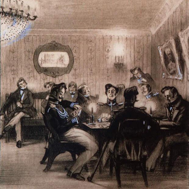 Как русские дворяне полюбили играть в карты