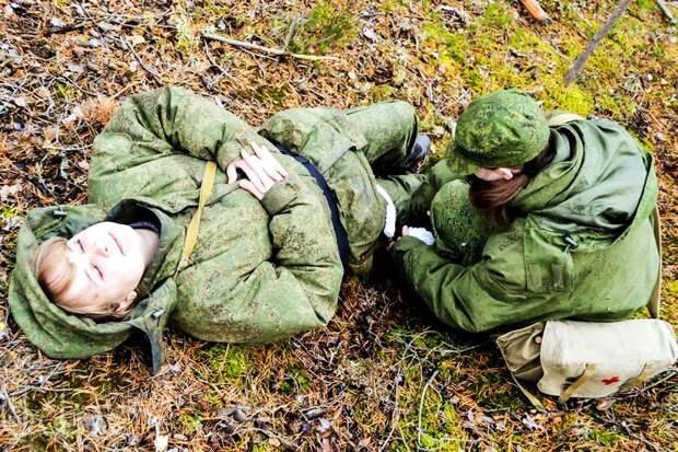 От тайги до британских морей ... : Лица девушек из Российской армии (42)