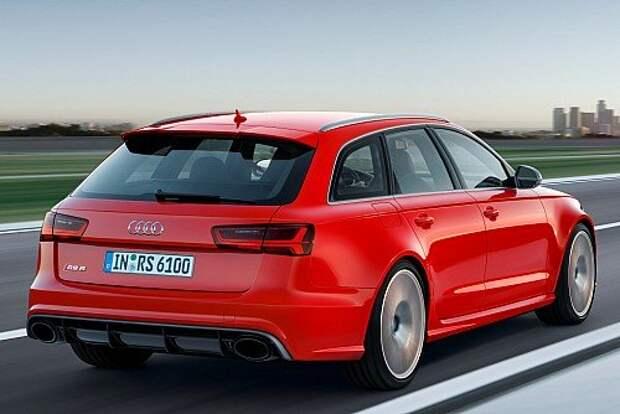 Серийный универсал Audi RS6 вышел на сверхмощность (ФОТО)