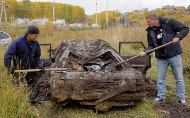 Жигули и Toyota провели год под землей. Завелась только одна!