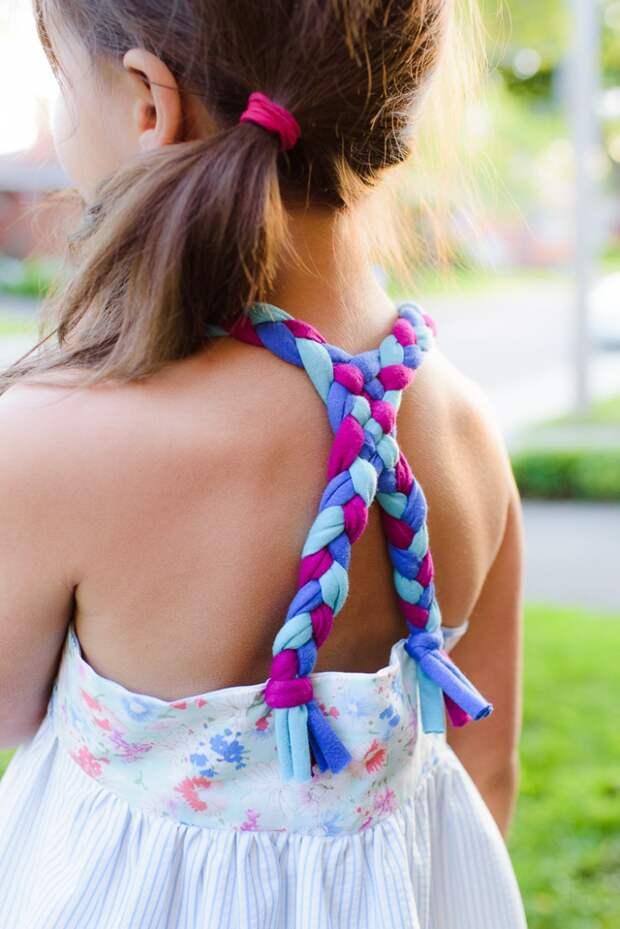 Бесплатная выкройка сарафана с косичками