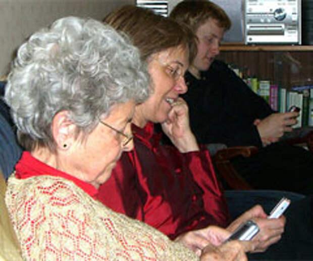 Разговоры с бабушкой на аутсорсинг