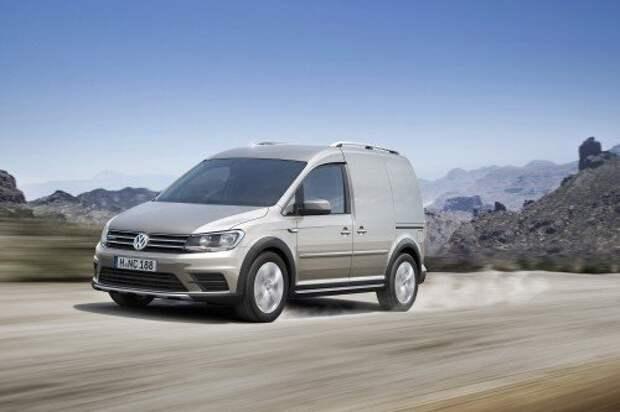 Volkswagen Caddy получил версию Alltrack