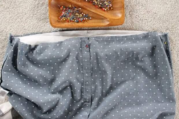 как перешить одежду