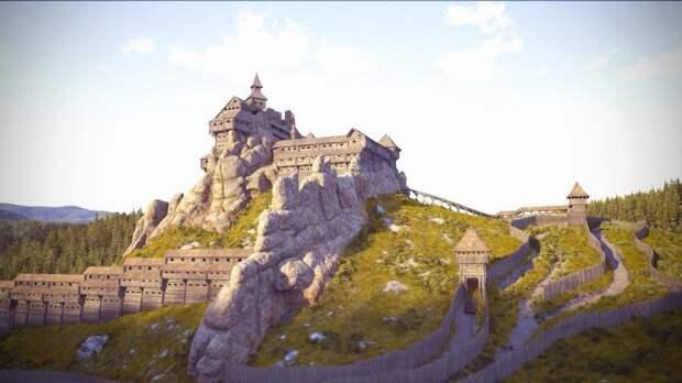 Тустань - древнерусская наскальная крепость