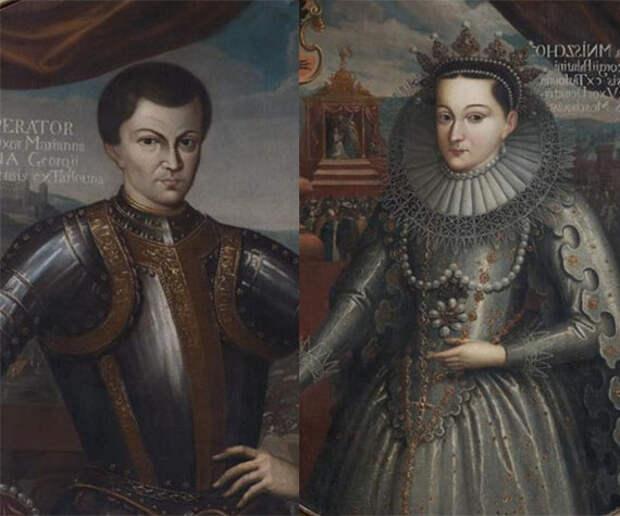Портреты Лжедмитрия I и Марины Мнишек из собрания Исторического музея