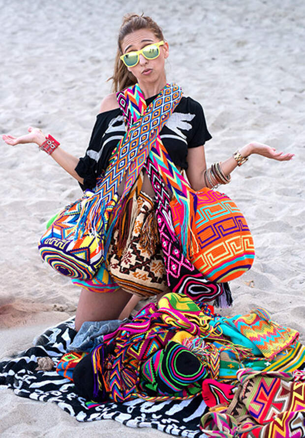 Индейская сумка Mochila