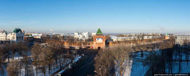 Зимний Нижний Новгород