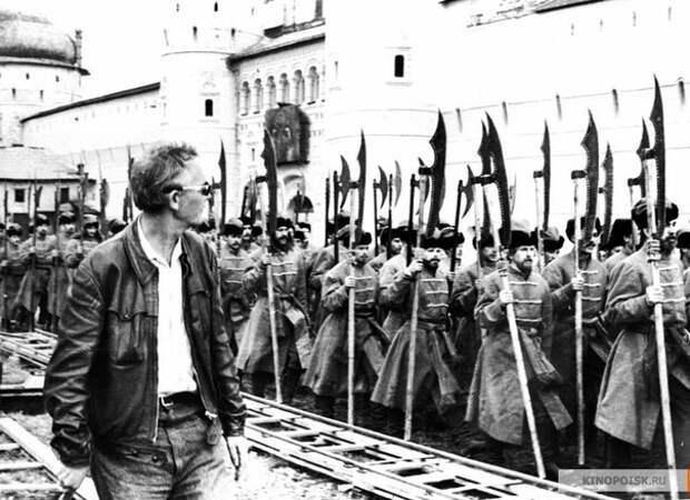 Съемки фильма «Иван Васильевич меняет профессию».