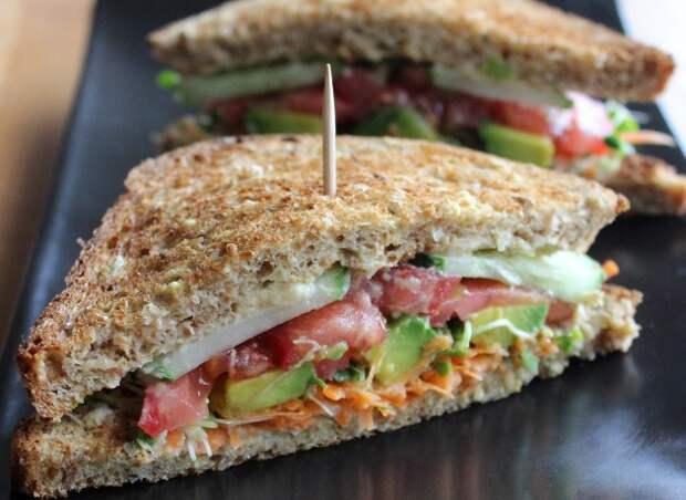 Вегетарианский сэндвич