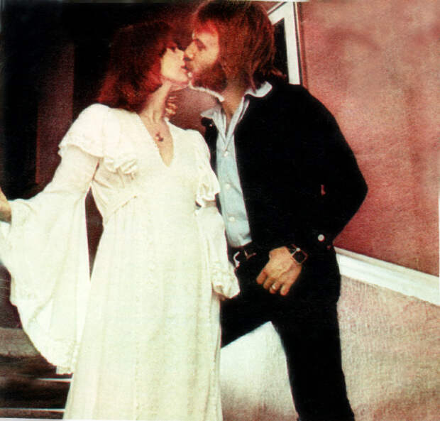 Анни-Фрид (Фрида) Лингстад и Бенни Андерссон. Фото / Anni-Frid Lyngstad & Benny Andersson. Photo
