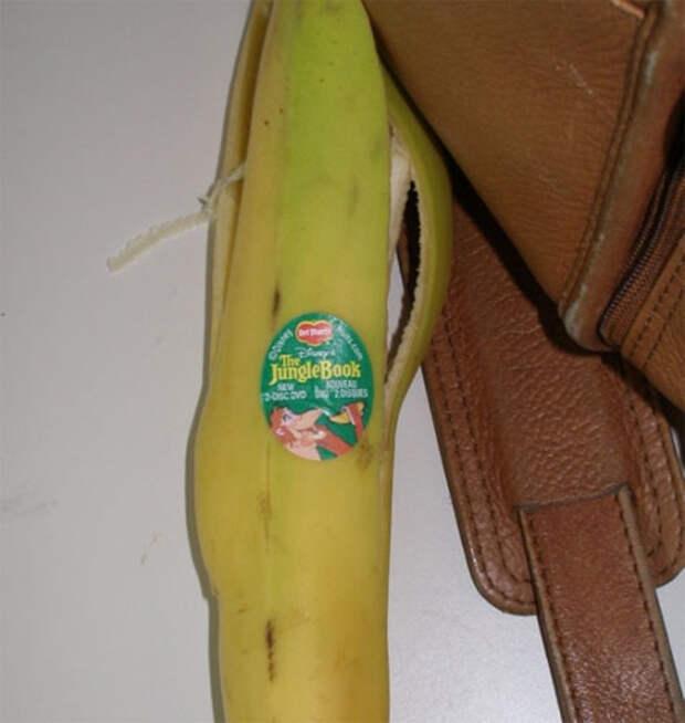 Банан как рекламный носитель