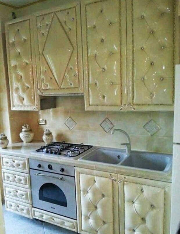 Кухня с мягкой обивкой. | Фото: Idealista.