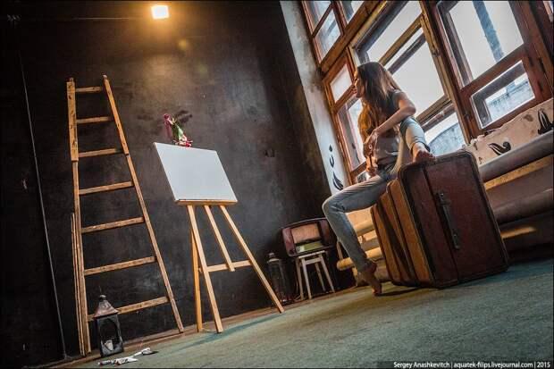 Обнаженная живопись. Как пишут картины грудью
