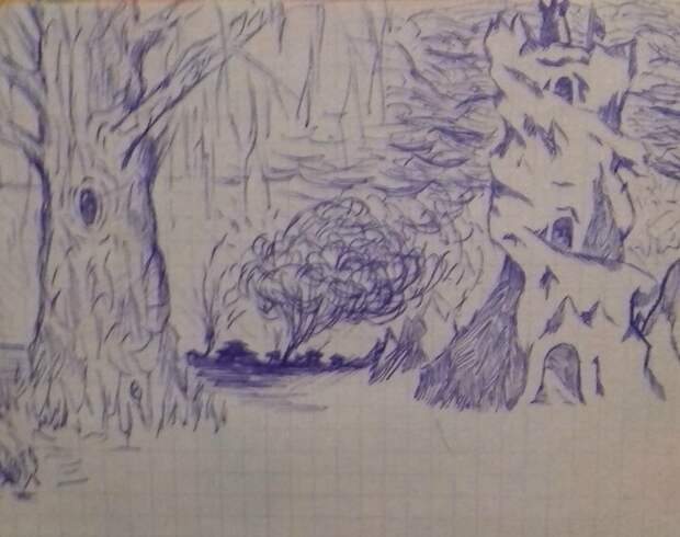 Рисунки школьника: Ручка, тетрадь, 90-е годы 90-е, ностальгия, рисование, рисунки школьные